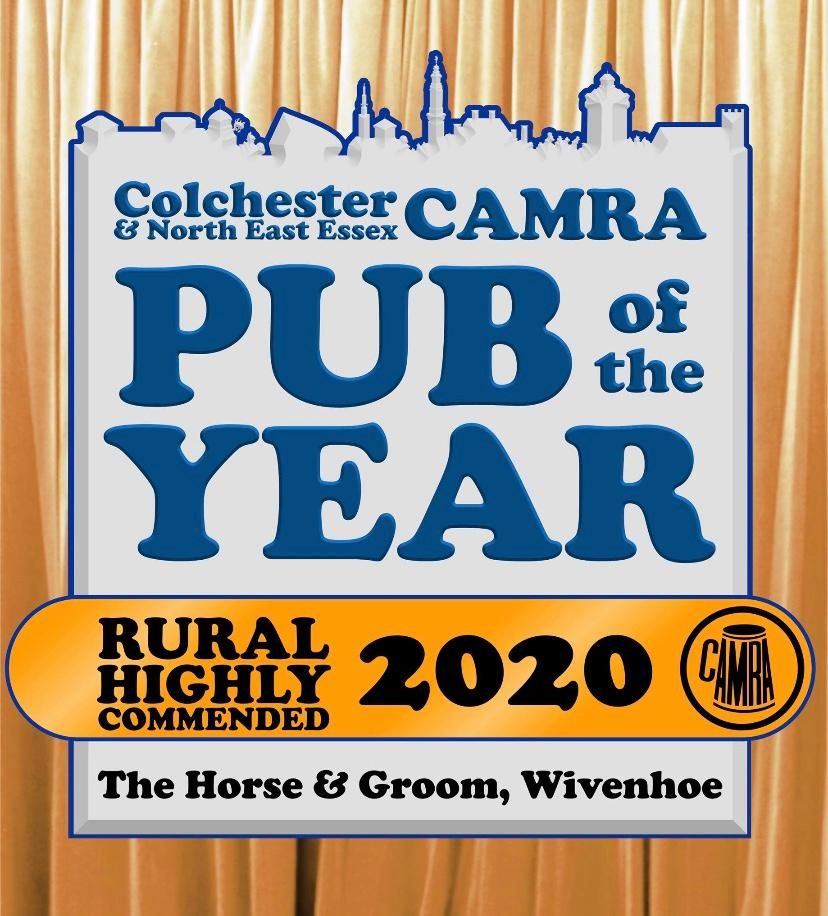 Extremely pleased to be voted highly commended within the rural category.