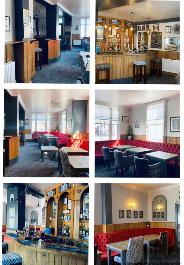 New interior decor and furniture in the lounge bar - May 2020